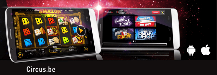 Application mobile Circus Casino