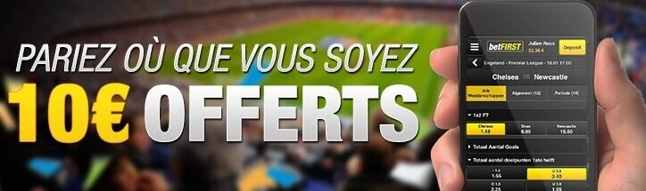 offre mobile Betfirst