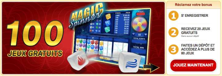 100 free spin Magic Spinner Prime Fortune